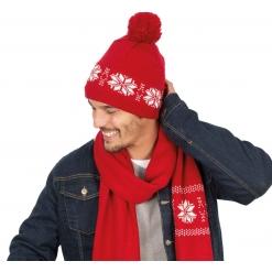 KP540 Fair Isle kootud müts