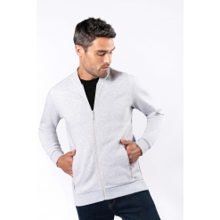 K4002 Full zip fleece sweatshirt