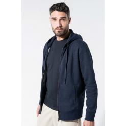 K484 Kariban Men's organic zipped hoodie