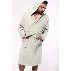 K140 Organic hooded bathrobe