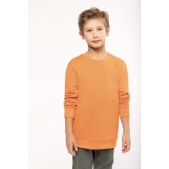 K4026 Kids eco-friendly crew neck sweatshirt