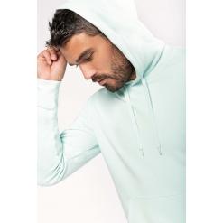 K4027 Mens eco-friendly hooded sweatshirt