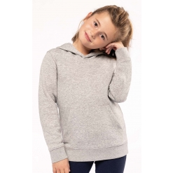 K4029 Kids eco-friendly hooded sweatshirt