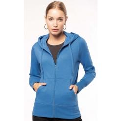 K4031 Ladies eco-friendly zip-through hoodie