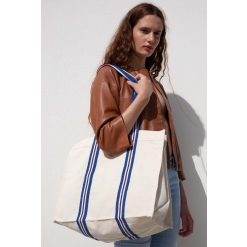 KI0279 Fashion shopping bag in organic cotton
