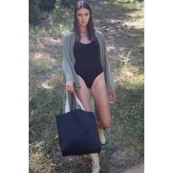 KI5202 Recycled flat-bottomed shopping bag