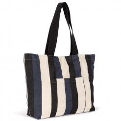 KI5210 Recycled shopping bag - Striped pattern