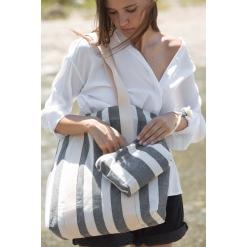 KI5705 Recycled pouch - Striped pattern