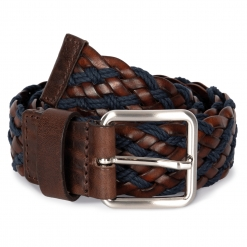 KP822 Two-tone braided belt