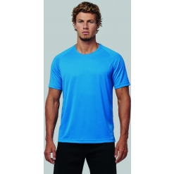 PA4012 Mens recycled round neck sports T-shirt