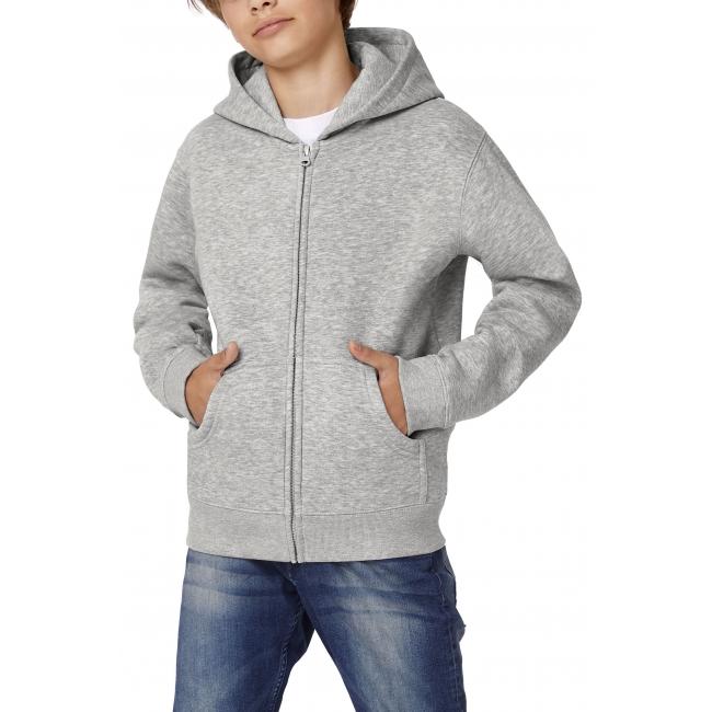 B&C Hooded Full Zip/Kids