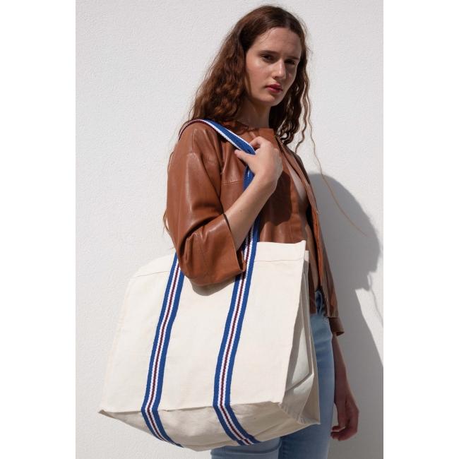 KI0279 Fashion shopping bag in organic cotton