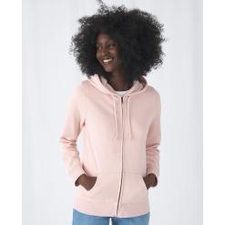 B&C Organic Zipped Hood /women