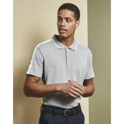 ID 0530 Men's polo shirt | contrast band