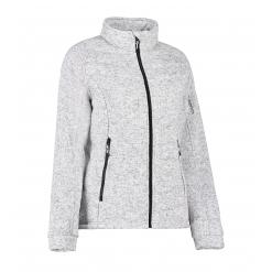ID 0827 Ladies's quilted fleece jacket