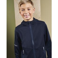 ID 40836 Lightweight soft shell jacket | Contrast kids