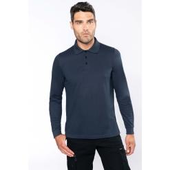 WK276 Men's long-sleeved polo shirt