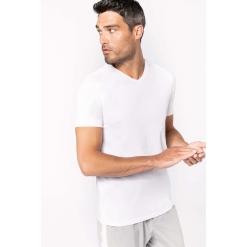 K3014 Men's short-sleeved V-neck t-shirt