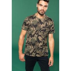 K3030 Men's short-sleeved camo t-shirt