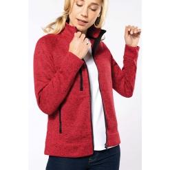 K9107 Ladies' Full Zip Heather jacket