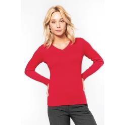 K966 Naiste V-kaelusega sviiter