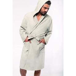 K140 Organic hooded bathrobe