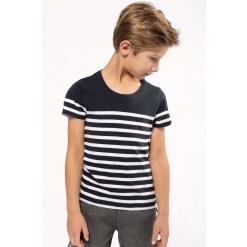 K3035 Kids Organic crew neck sailor T-shirt