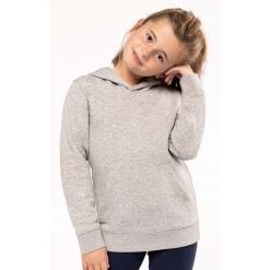 K4029 Kids eco-friendly hooded sweatshirt