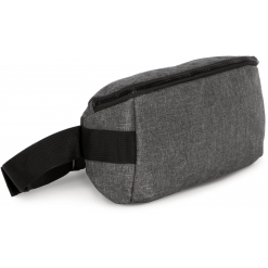 KI0365 Waistbag with modern fastening in contrasting colours