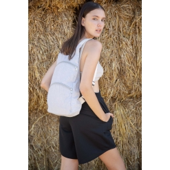 KI5101 Recycled backpack with anti-theft back pocket