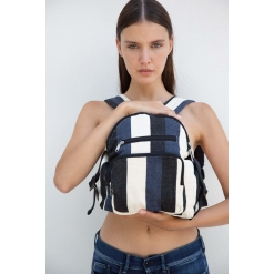 KI5108 Recycled backpack - Striped pattern