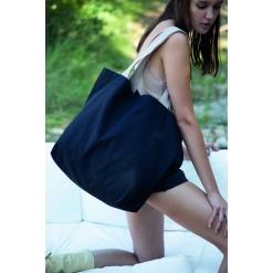 KI5204 Large recycled flat-bottomed shopping bag