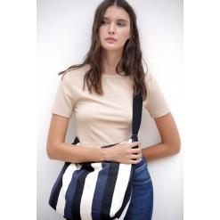KI5211 Recycled shoulder bag - Striped pattern