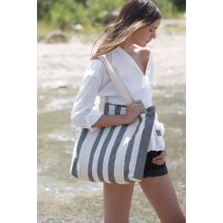 KI5213 Recycled shopping bag - Striped pattern