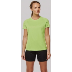PA4013 Ladies recycled round neck sports T-shirt