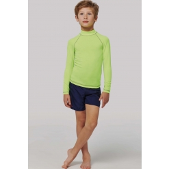 PA4018 Children's long-sleeved technical T-shirt with UV protection